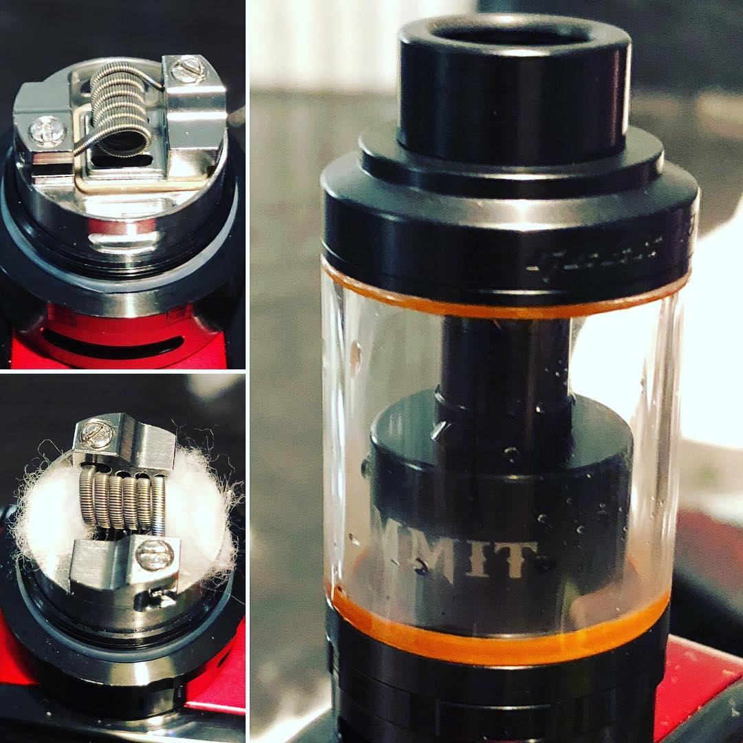 Wotofo Serpent SMM & Geekvape Ammit 25 Comparison
