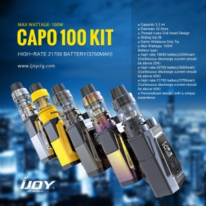 IJOY CAPO 100 Kit Review