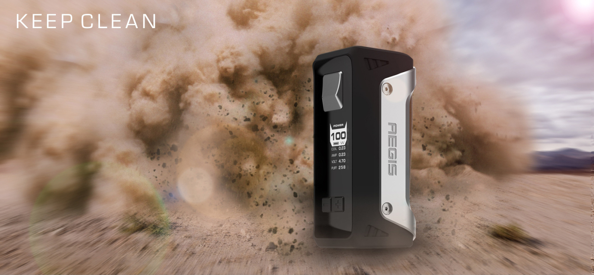 Geekvape Aegis 100W TC Starter Kit Preview