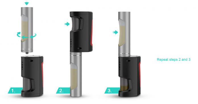 GBOX Squonk Mod and Radar RDA Preview