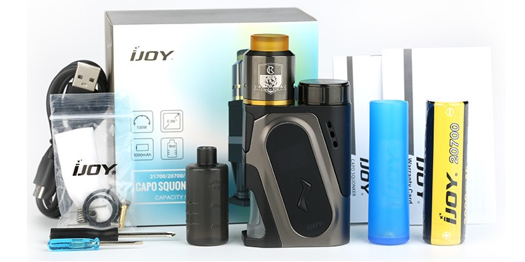 IJOY CAPO Squonker Kit Review