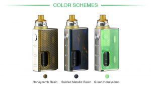 Wismec Luxotic Colors