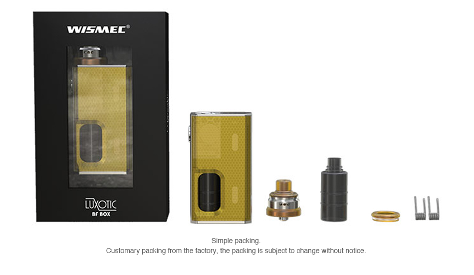 Wismec Luxotic BF Box Kit Review