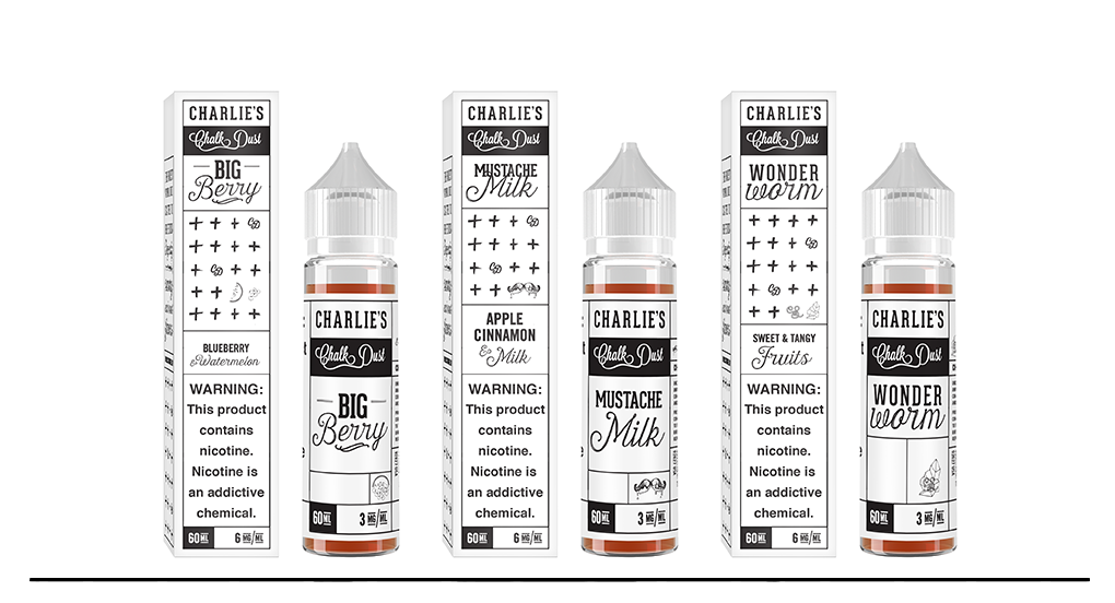 Best E-juice Charlie's Chalk Dust