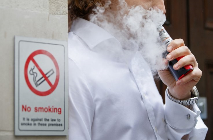 Vaping is 95% safer than smoking