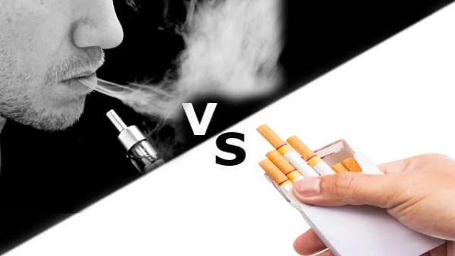 Vaping vs. Smoking?