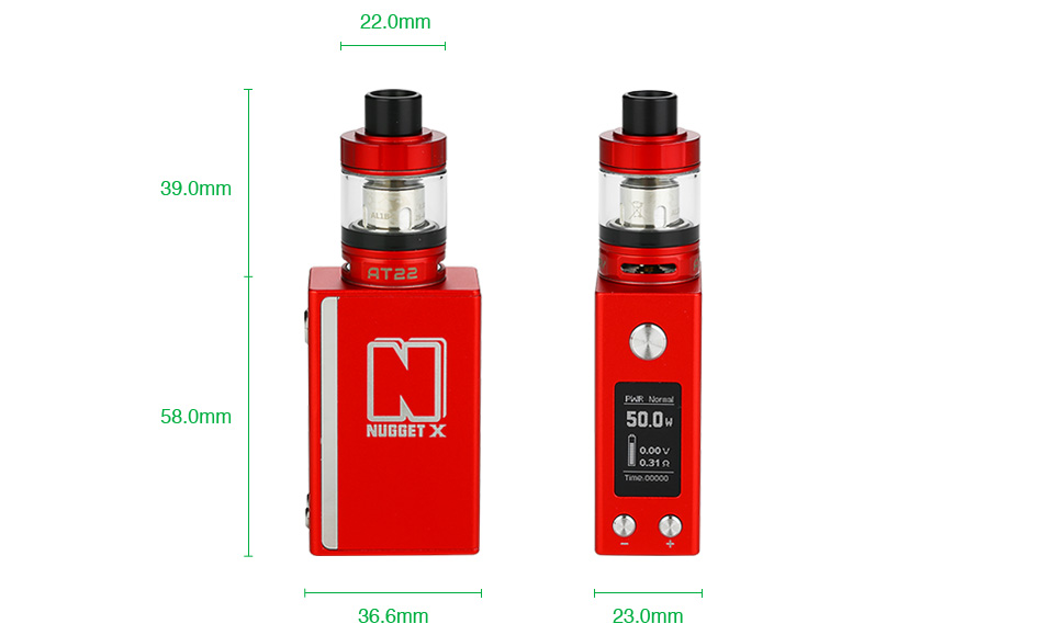 Artery Nugget X 50W TC Starter Kit