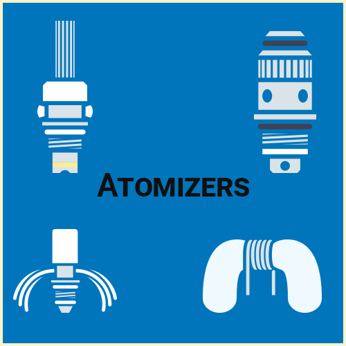 Atomizer vs Cartomizer vs Clearomizer - What's the Difference?