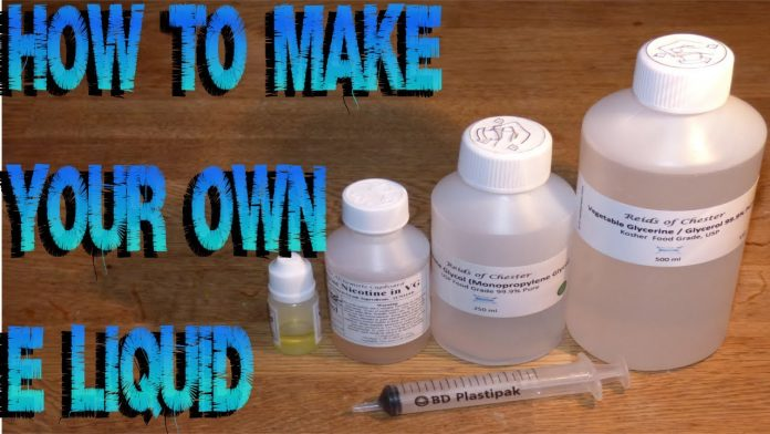DIY Ejuice - Ultimate Guide to Make Vape Juice