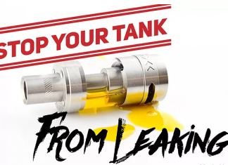 How to stop vape tank leaking?
