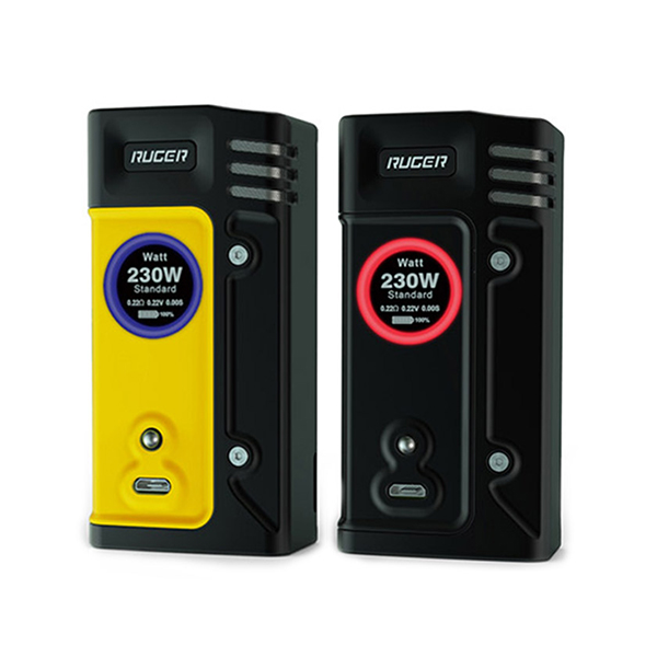 Think Vape Ruger 230w TC Box Mod Tech Review