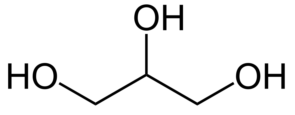 vegetable glycerin chemical structure