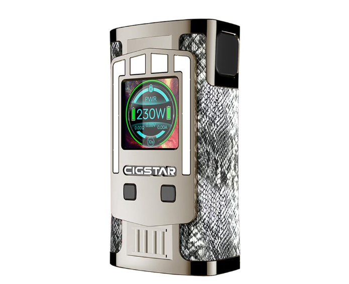 Cigstar Greek Temple 230W TC Box Mod Review