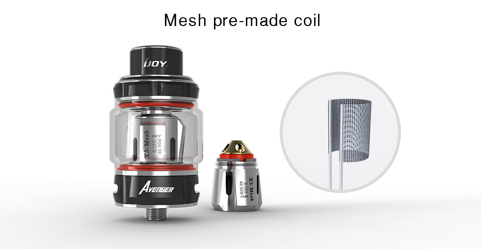 IJOY Avenger Sub-ohm Tank Preview