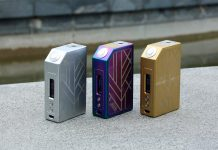 Arctic Dolphin ALFA 210w TC Box Mod Preview