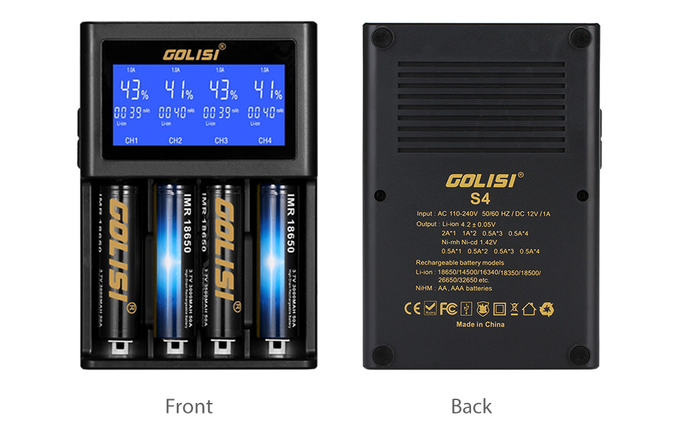Best 18650 Battery Chargers 2018!