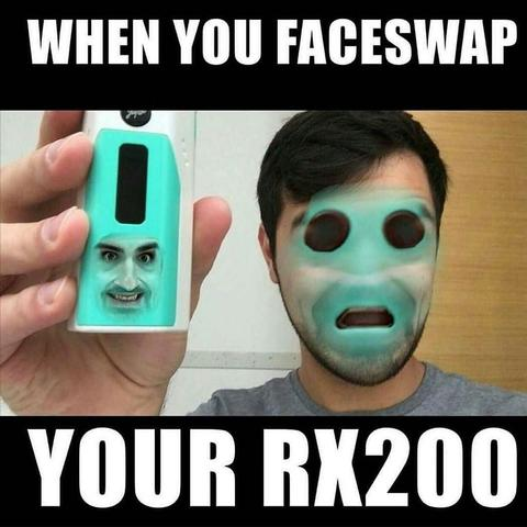 Faceswap your Rx200