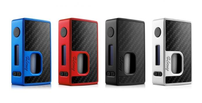 Hotcig X Rig Mod WW RSQ 80W Bottom Feed TC Box Mod Review