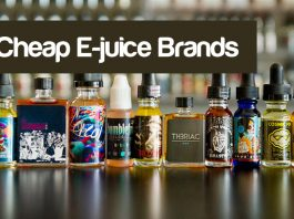 Best Cheap E-Juice Brands in Canada and the USA