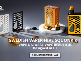 Swedish Vaper Hive Squonk Kit With Dinky RDA