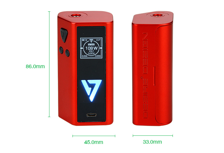 Desire Cut Sqounk 108W TC Box Mod