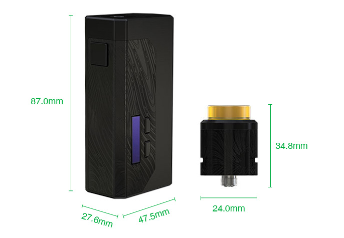 WISMEC Luxotic MF Box VV Kit