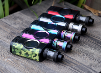 Aspire Dynamo 220W TC Kit Preview
