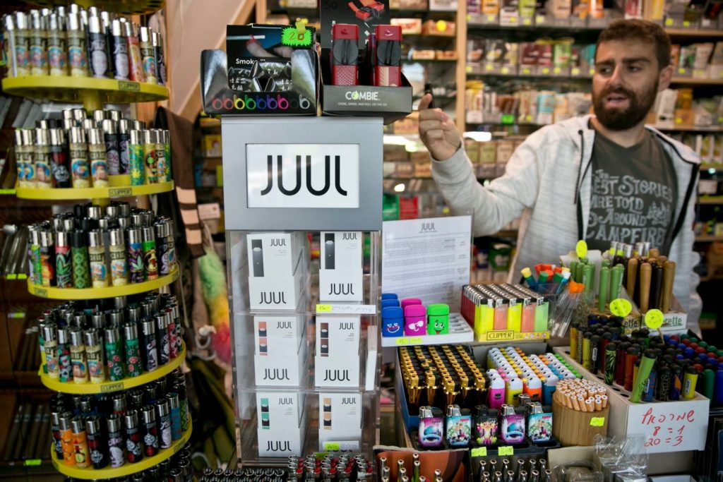 Israel Government Will Ban E-cigarettes like Juul