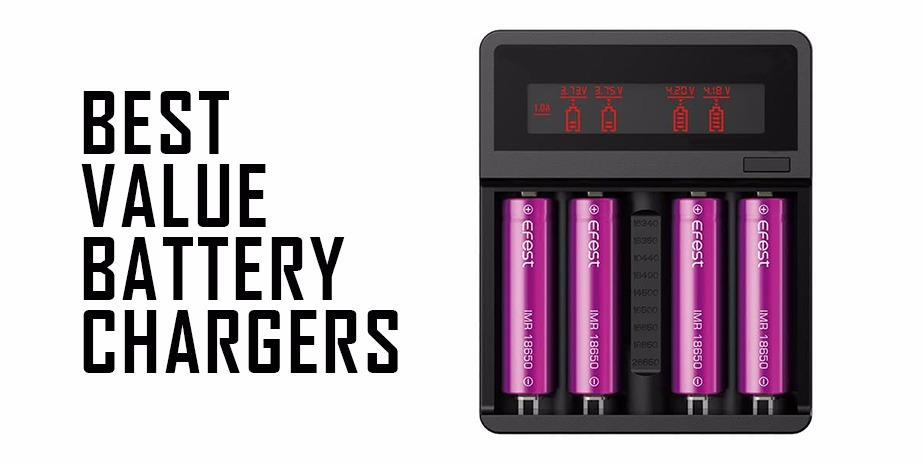 Best Battery Chargers for Vaping 2019